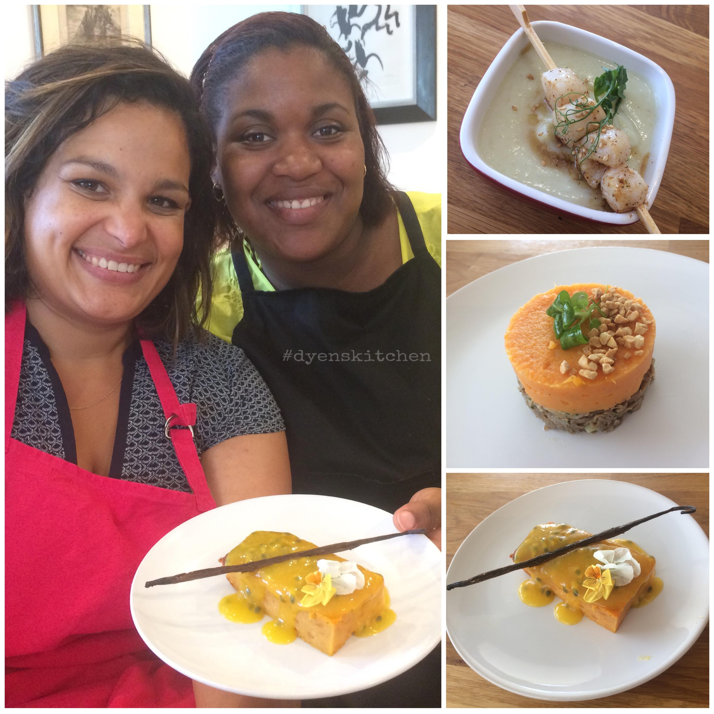 Atelier culinaire avec Leslie